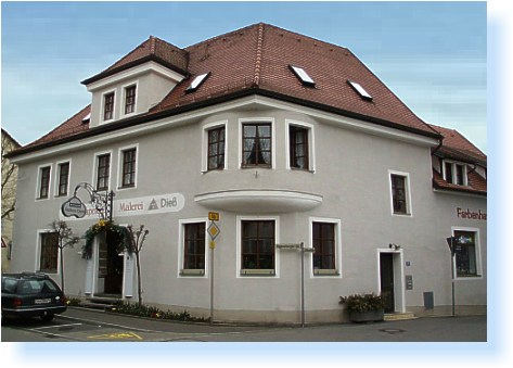 Unser Farbenhaus in Roding